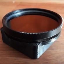 porta filtros circular 52mm para gopro hero3 gadgets & electronics goproportafiltro52mmpolarizadorskeleton