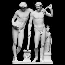 castor pollux san ildefonso group scan mythology roman sculpture group figurative astrology brothers castor pollux twins