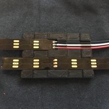 neopixel splice & wire guide & garden tool wire alignment solder neopixel splice