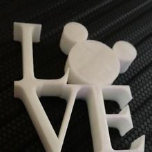 Mickey Aşk heykel mıknatıs hayran Sanat buzdolabı mıknatıs Disney fare Mickey mickeymouse seyir
