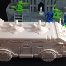 dozer navetta Skyshine's bolgia tavolo armatura gioco giochi modello rpg strategia serbatoio camion furgone veicolo video gioco giochi guerra wargaming miniatura scifi tavolo gioco guerra 28mm 18mm bolgia Multiverso