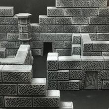 modulare ciclopico rovine 15 mm scala tavolo architettura dungeon fantasia gioco Giochi giochi miniature rpg terreno giochi guerra wargaming warhammer miniatura scifi giochi tavolo viandante gioco tavolo gioco ruolo tavolo diorama
