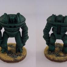 templar7 table rétro robot rpg science fiction jouet miniature mech 28 mm 15 mm dieselpunk raygun gothique guerre Jeu