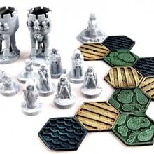 tattiche tascabili fedele luminoso dea edizione tavola Giochi fantasia gioco giochi modello rpg strategia miniatura scifi tavolo tasca 15 mm tattiche