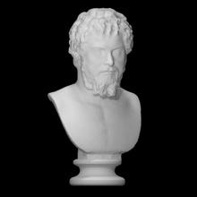 imperador septimius Severus Varredura fracasso cara cabeça retrato Roma escultura mármore imperador Itália