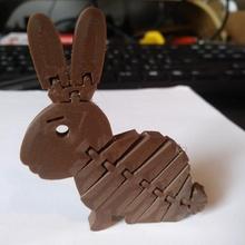 esnek Paskalya tavşan kuvvetli bağlantılar sürpriz Yumurta vidalama domuzcuk banka tavşan baş tinkercadeaster oyuncaklar oyunlar mafsallı kumbara tinkercad Paskalya yumurtası Paskalya Tavşanı tinkercadeaster