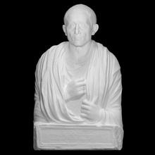 funeral bust freedman c aurunceius princeps scan bust man mythology  roman sculpture stone tomb marble religion 3dprint 3dscan funeral slave freedman citizen