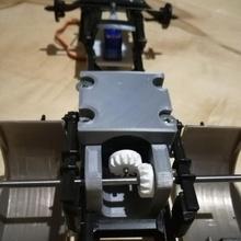 Getriebe rc Autos 3d Modell Motor LKW Erfinder Ausrüstung rc Getriebe Änderung Scania Italeri lkw Kegelbeschwörung