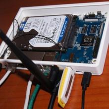 Gehäuse banana pi bpi r1 router + 25 hdd 7mm 9 5mm 12mm 15mm gadgets Elektronik gadgets picase router