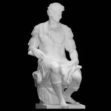 giuliano medici duca nemours scansione michelangelo rinascimento scultura