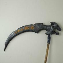 muerte sycthe darksiders 2 batalla fregona props cosplay archivo adjunto axe juego espada arma videojuegos battlemop escoba mop guadaña battlemops darksiders