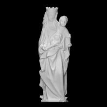 vierge enfant analyse bébé figure Jésus sculpture statue enfant Madone Marie Christ vierge