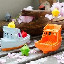 marv - small yacht marvin toys & games boat children kids ship toy water bath floating marvin swim benchy bathtub bathtubboat marv