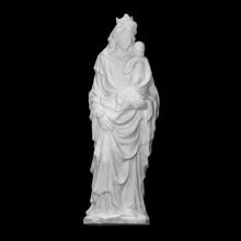 Madone enfant analyse bébé figure Jésus mère sculpture Madone Marie Christ terre cuite