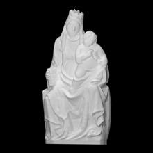 Madone enfant analyse bébé figure Jésus sculpture enfant marbre Madone Marie Christ vierge béni figure