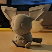 pichu ventilador Arte imprimible anime bebé huevo juego manga monstruo pokemon escultura Pikachu vídeo esculpir electricidad eléctrico tpe grupo pichu