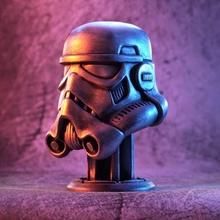 stormtrooper helmet fan art armor armour bust helmet stand star trooper stormtrooper storm wars 3