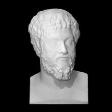retrato septimius Severus Varredura fracasso cara cabeça homem retrato barba mármore museu gesso Thorvaldsen