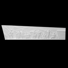 bas-relief monument conquerors space scan metal sculpture space wall monument relief soviet astronaut exploration bas