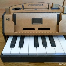 Nintendo Labo Klavier Verbesserungen Gadgets Elektronik Nintendo DIY Spiel Musik Klavier Videospiel Fest Nintendo Schalter Nintendolabo Verbesserungen Tuto