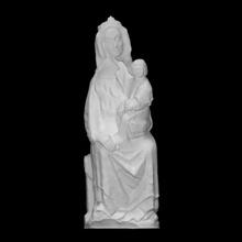 Madone intronisé analyse bébé Jésus mère sculpture enfant Madone Marie Christ vierge intronisé tchèque