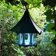 light sky bird temple & garden bird birdhouse lamp temple birdfeeder feeder bird feeder bird house bird-feeder bird-house gardenlamp garden-lamp airtemple birdtemple bird-temple