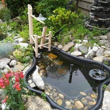 japanisch Kippen Bambus Wasser Brunnen Garten Bambus japanisch Wasser Brunnen Kippen Bambus Becher Shishi Odoshi Teich Fabuntain Felsen Becher Wasser Brunnen