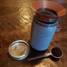 cwcdesigns coffee scoop scoop holder funnel mason jar & garden coffee spoon scoop espresso tamper latte espresso machine coffee scoop mason jar