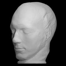 charles stephen lewis camus scan anatomy sculpture mathematician death-mask charles-stephen-lewis-camus mechanician camus
