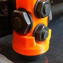 sorbotano 1 emisfero adattatore impostato costruire 3d stampante adattatore piedi mk2 ammortizzatore mk2s mk3 mk25 sorbotano emisfero 1
