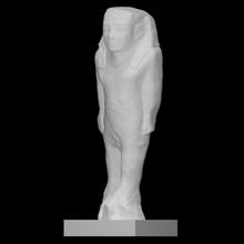 colosso Varredura antigo arte escultura estátua calcário faraó colosso Byblos