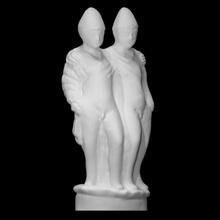 castor pollux scan figurine sculpture statue  castor pollux beirut lebanon