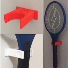 p1 mosquito racket holder & garden holder racket organizer utility p1prototipos mosquito racket holder