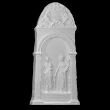 funéraire stèle sarapion analyse romain sculpture marbre stèle funéraire Liban sarapion
