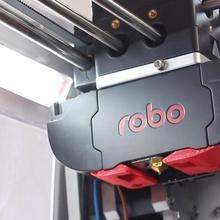 robo led strip mount build 3d printer printer accessory led light mount abs strip robo robo r2