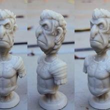 César buste échecs astérix César