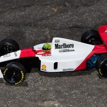 Aryton senna 1991 McLaren mp4 6 3d imprimé rc f1 voiture rc voitures voiture f1 rc formule openrc séné McLaren mp4 6 mp4 6
