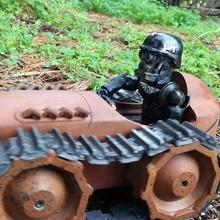 dieselpunk fpv tracteur coureur voiture caméra fpv robot réservoir jouet véhicule rc ossum dieselpunk