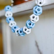dodecaedro rosario educación Moda Arte arte joyería matemáticas collar joyería joya dodecaedro talón poliedro