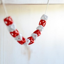 octaèdre perles éducation mode art bracelet artisanat bijoux math Collier bijoux polyèdre octaèdre