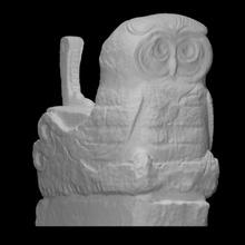 sophia boat owl scan boat goddess modern owl sculpture marble abstract sophia