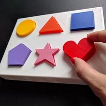 forme puzzle giocattolo bambini piccoli bambini facile ragazzi puzzle giocattolo giocattoli forme bambini piccoli