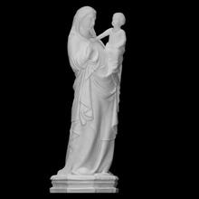 vierge enfant Madone analyse bébé femelle Jésus sculpture statue enfant marbre Madone vierge