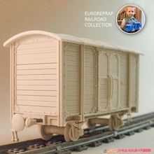 carriage 01 euroreprap chemin fer jouets Jeux moteur lego modèle échelle train 3dprinted locomotive diesel scalemodel chemin fer s'avérer 3dprinttoy 3dprinttrain jauge legotrack modèle train sémaphore indicateur point