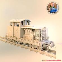 diesel 01 c locomotiva Lego ers compatibile fdm 3d stampabile giocattoli Giochi motore Lego modello scala treno 3dprinted locomotiva diesel modellino in scala Ferrovia rivelarsi 3dprinttoy 3dprinttrain legogauge