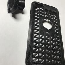 iphone 7 estante soporte mano caso funda