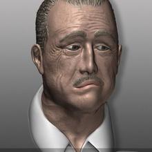 nemoriko godfather - der pate - don vito corleone fan art bust buste thegodfather mafia nemoriko bueste derpate donvitocorleone