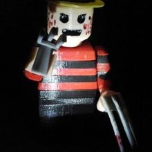 Lego gigante Freddy krueger juguetes juegos muñecas Víspera Santos Lego juguetes