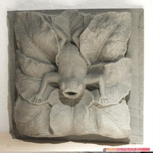 Frosch geformt Brunnen Manierist Skulptur Wiederherstellung Geschäft Kunst Skulptur Wasser Brunnen Frosch Teich Manierismus