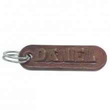Daniel personalizado chaveiro gravado cartas moda acessórios chaveiro Customizável Daniel personalizado llaveros nomes personalizado nombres